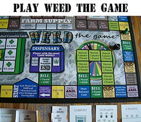 Play weed the game