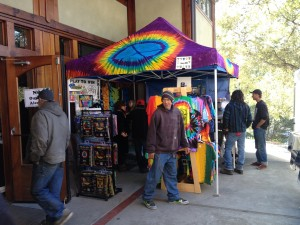 weed the game booth at Humboldt Hempfest 2013